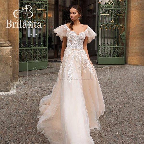 Развернуть и показать еще 3 фото. Свадебные и вечерние платья. Салон Вельон  ... f3137a812b4
